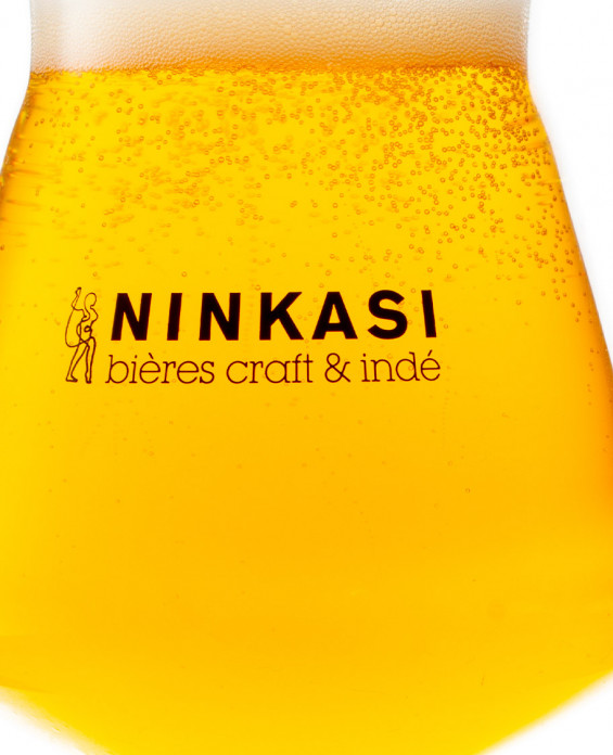 Ninkasi 1950 glass