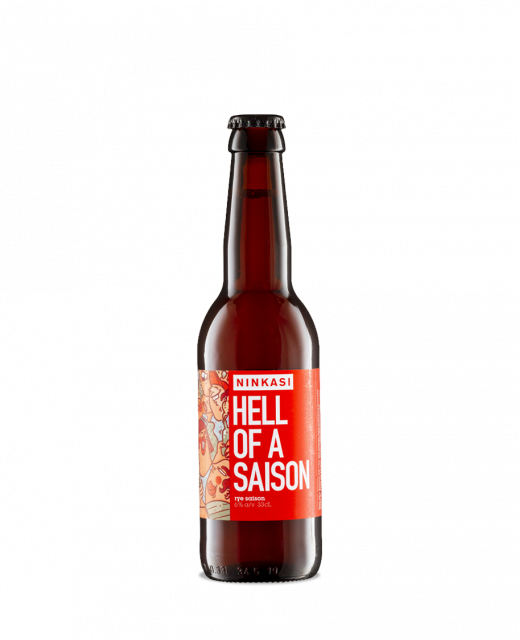 Bière Ninkasi Hell of a Saison 33cl