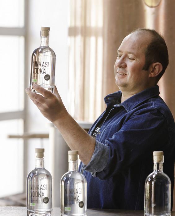 Spiritueux Ninkasi Vodka Houblon Saaz bio