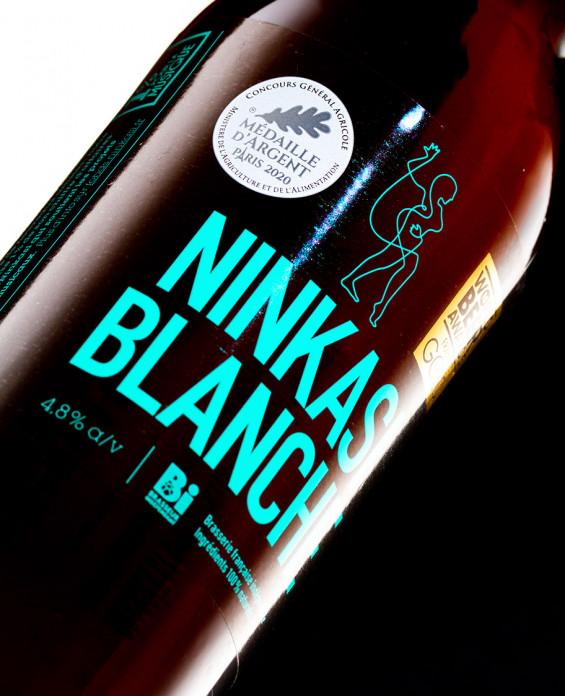 Bière Ninkasi Blanche 75cl