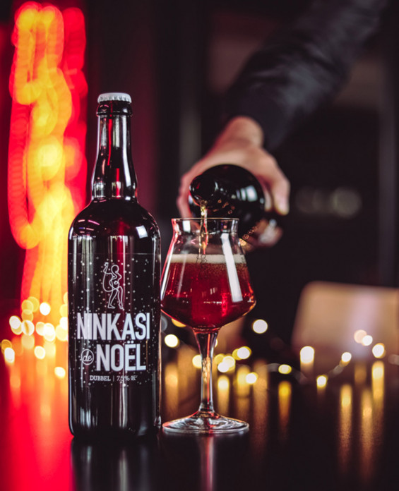 Bière Ninkasi de Noël 75cl