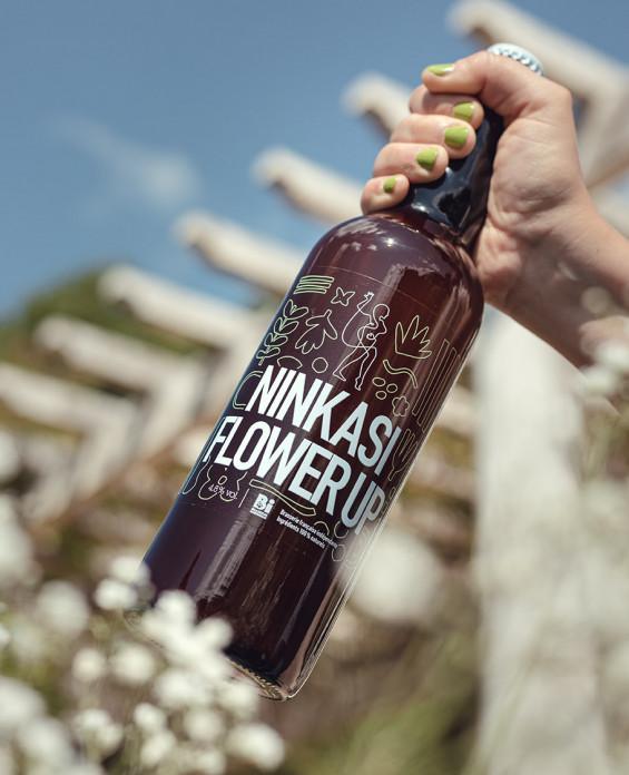 Bière Ninkasi Flower UP 75cl